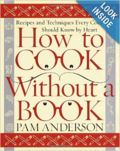 Cook without book